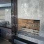 Беседка с барбекю комплексом: тандыр, мангал, вертел, русская печь