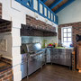 Фото барбекю комплекса: коптильня, плита под казан, тандыр, духовка