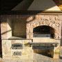 Барбекю комплекс с мангалом, вертелом, плитой под казан