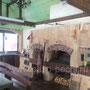 Беседка с барбекю комплексом: мангал, вертел, генератор углей, плита под казан, русская печь, тандыр