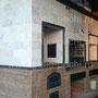Беседка с барбекю комплексом: русская печь, мангал, вертел, генератор углей, плита под казан, духовка