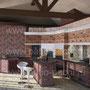 Беседка с печным комплексом:коптильня, русская печь, мангал, вертел, генератор углей, барбекю