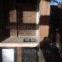 Беседка с барбекю комплексом: плита под казан, мангал, вертел, генератор углей, рабочие поверхности