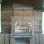 Печной комплекс; мангал, вертел, генератор углей, дверка эл. привода, ящик для аксессуаров