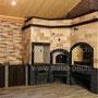 Барбекю комплекс: мангал, вертел, генератор углей, плита под казан, русская печь, пицца печь
