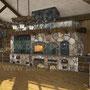 Печной комплекс: плита под казан, тандыр, коптильня горячего и холодного копчения, русская печь, мангал, вертел, генератор углей