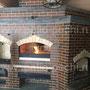Печной комплекс барбекю: камин, мангал, вертел, генератор углей, вертел, плита под казан