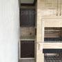 Многофункциональный печной комплекс: мангал, вертел, генератор углей, русская печь и буфетные столики