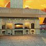 Печной комплекс: тандыр, плита под казан, мангал, вертел, русская печь (печь пицца), коптильня горячего копчения
