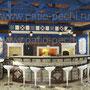 Барбекю комплекс: плита под казан, коптильня, мангал, вертел, генератор углей, русская печь