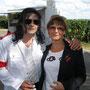 Avec Joelle Cornet