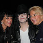 Avec Marie France Dalila et Ingrid