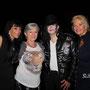 Avec Marie France Dalila et Marie France Heureuses et Ingrid