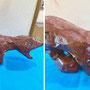 ジョージのガムテープ恐竜