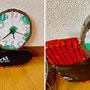 ボールとシューズの時計