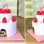 オルゴールケーキ