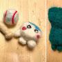 羊毛のマスコット