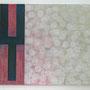 """Tussenruimte"" - olieverf / linnen 205 x 170 cm (diptiek)"