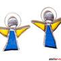 Engel Tiffany 2er Set Schutzengel Baumschmuck