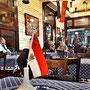 Café Riche, uno dei più antichi locali del Cairo
