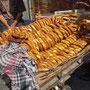 Simit, il classico pane al sesamo - Eminönü, Istanbul