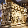 Tombe romane. Museo Archeologico di Istanbul