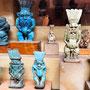 Amuleti del dio Bes, Museo Egizio, Il Cairo