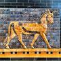Porzione della Porta di Ishtar - Museo Archeologico di Istanbul