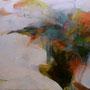 『 ふさがれた独奏 』2008             F150号 /油彩