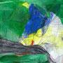 『 83つめの物語 』2008            色鉛筆、オイルパステル