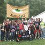 Photo de groupe des jeunes des environs de Dannemarie ...