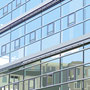alter Bushof - neues Hotel I - Aachen   2005  -   Acrylfarbe auf LW  -   1,3m x 1,3m