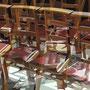 Kirchenstühle III   2018  -   Acryl auf LW  -   1,6m x 2,0m