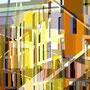 Überlagerung VII   2011   -  Acrylfarbe auf LW  -   1,5m x 1,5m