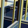 CaféXII - Paris   2007   -  Acrylfarbe auf LW  -   1,0m x 1,0m