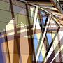 Überlagerung VIII   2011  -   Acrylfarbe auf LW  -   1,8m x 1,8m