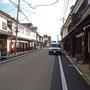 町家づくりの古い街並