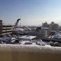 翌日25日の午後は晴れたものの、市内はマヒ状態