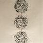 fabrik - lace IV, collagraphie & cotton, 6 expl