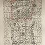 fabrik - lace I, collagraphie & cotton, 6 expl