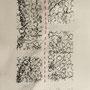 fabrik - lace III, collagraphie & cotton, 6 expl