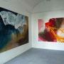 Ausstellungsansicht RUBA (li.), White Shark (re.) , Freie Kunstakademie Mannheim 2010