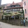 Ein wunderschönes altes Fachwerkhaus - jetzt Restaurant