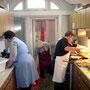 Küchenarbeit für Veranstaltung