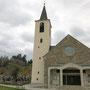 Pfarrkirche Bad Traunstein mit Wachtstein