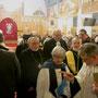 syrisch-orthodoxe Chorepiskopus Prof. Dr. Emanuel Aydin, davor Reverend Aileen Hackl (anglikan.)