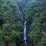 6月 梅雨時の不動の滝 長野原町