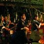 1月20日 湯かけ祭りの御囃子 長野原町川原湯温泉