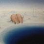 青い泉   2010 / 297 × 420 ・ アクリル