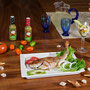 Pescado Frito acompañado con Salsa Verde de Chile Habanero MORE